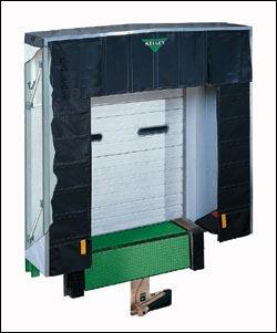 flex frame dock shelter