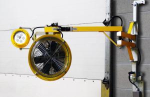 Heavy-Duty Adjustable Fan Light