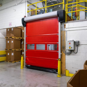 Albany RR400 high speed roll up door.